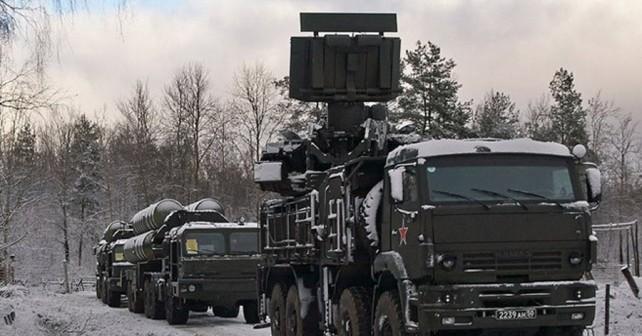Ruski raketni sistemi S-400 in pancir-S1