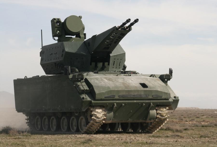 samovozni protiletalski topovski sistem Aseslan korkut