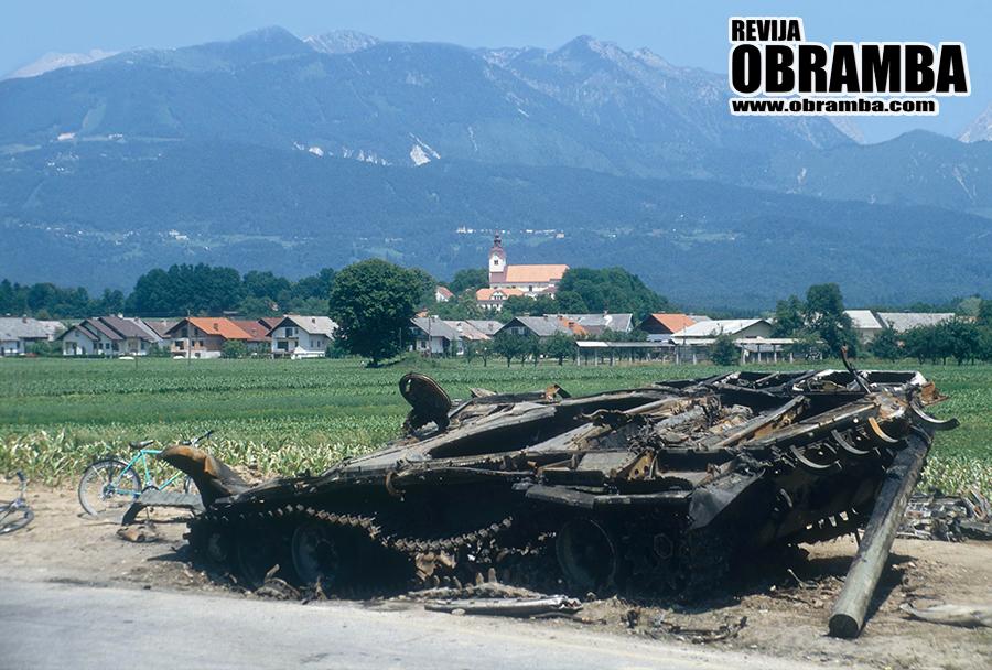 Vojna za Slovenijo: Moste pri Komendi, 2. julij 1991