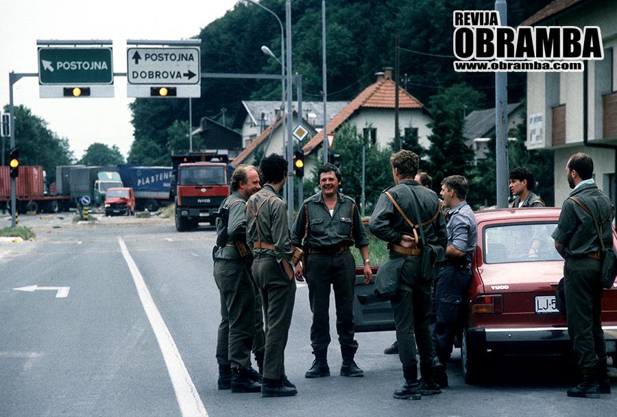 Vojna za Slovenijo: Brezovica, 28. junij 1991