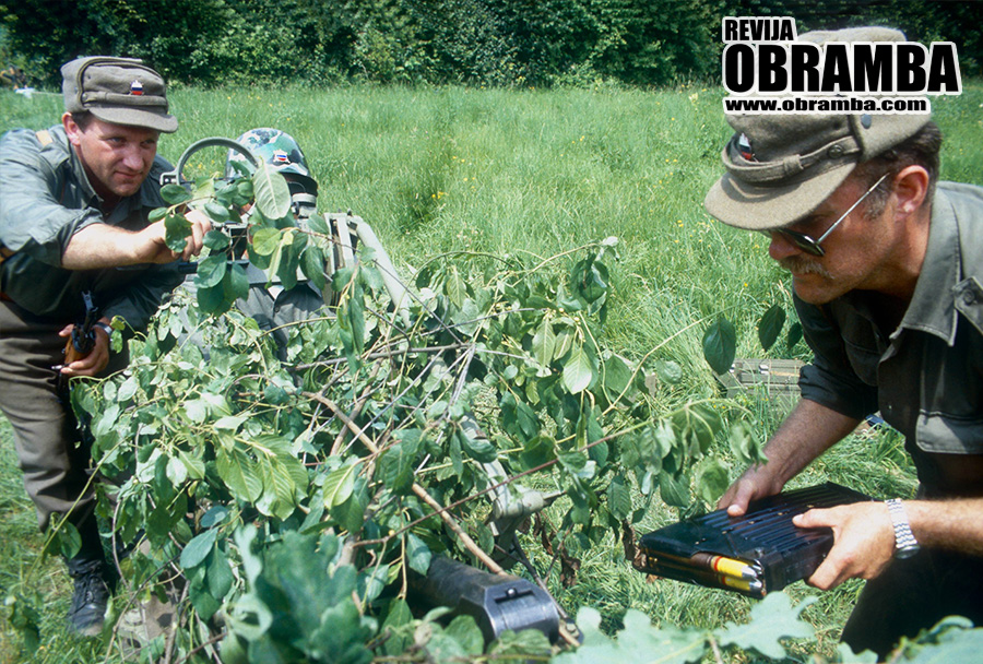Vojna za Slovenijo: Domžale, 4. julij 1991