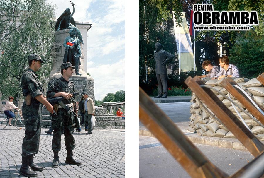 Vojna za Slovenijo - Ljubljana, 30. junij 1991