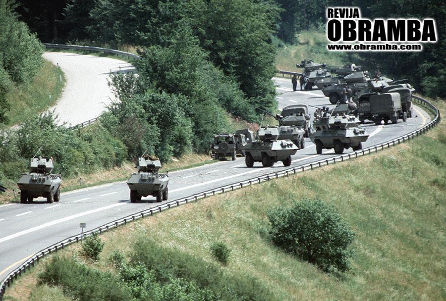 Vojna za Slovenijo - Medvedjek, junij 1991
