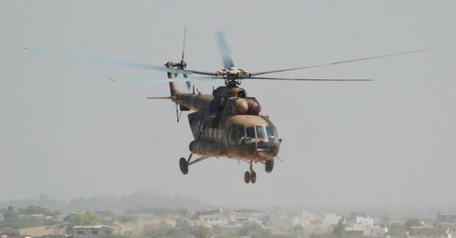 Pakistanski vojaški helikopter Mi-171
