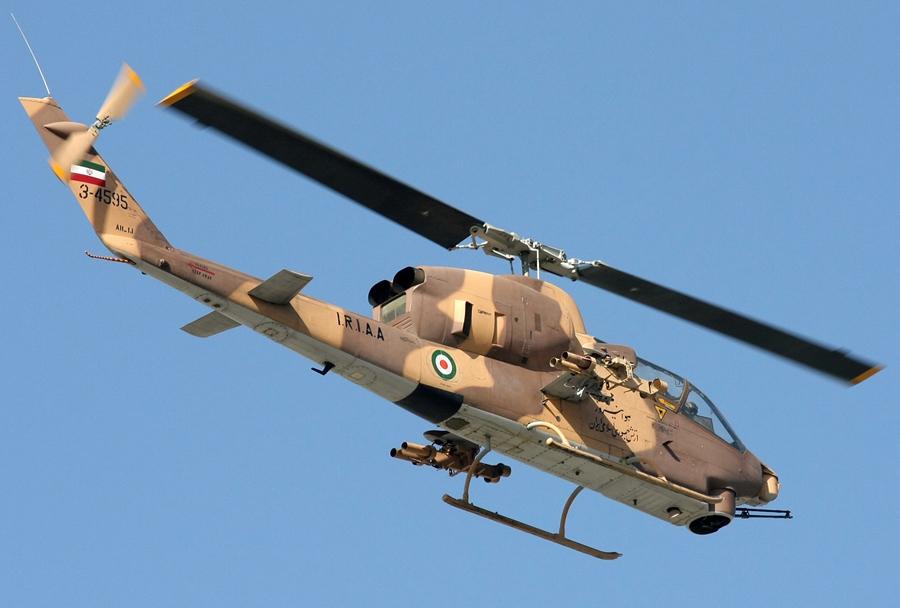Iranski jurišni helikopter AH-1 cobra