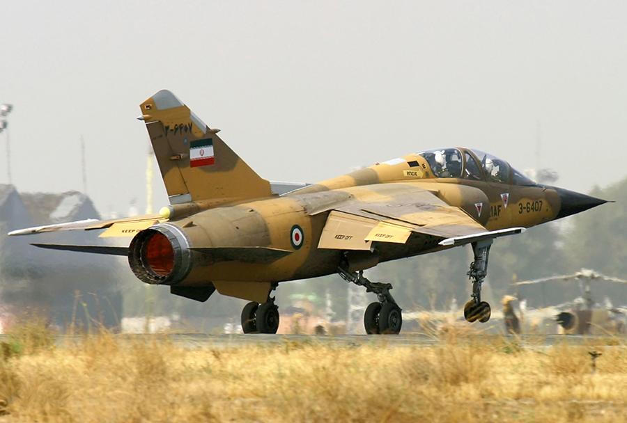 Iranski lovec mirage F1BQ