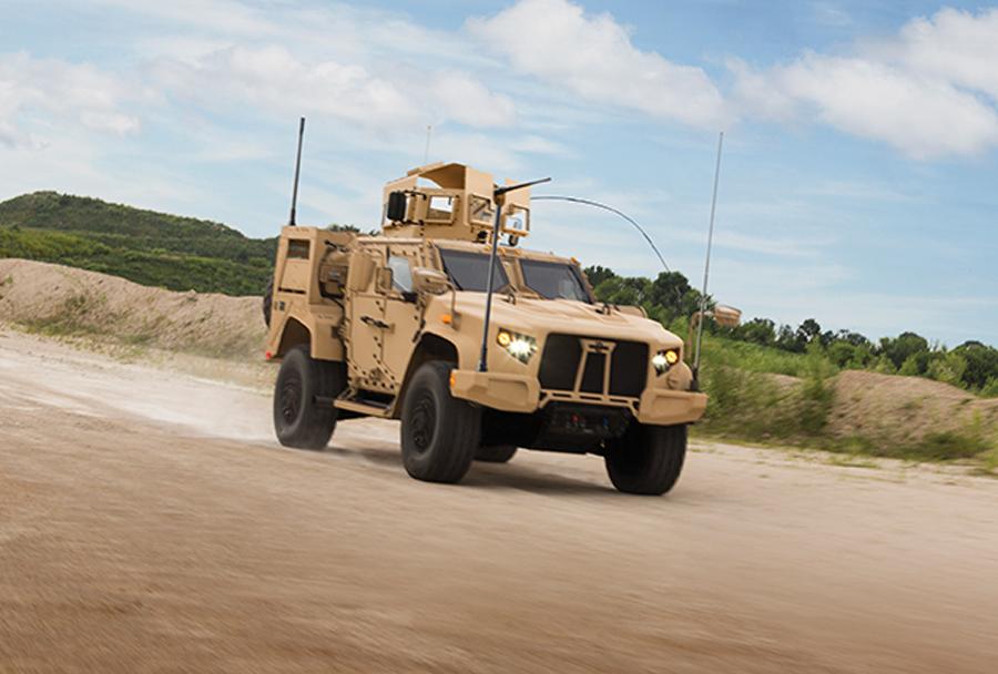 Lahko taktično oklepno vozilo JLTV Oshkosh L-ATV
