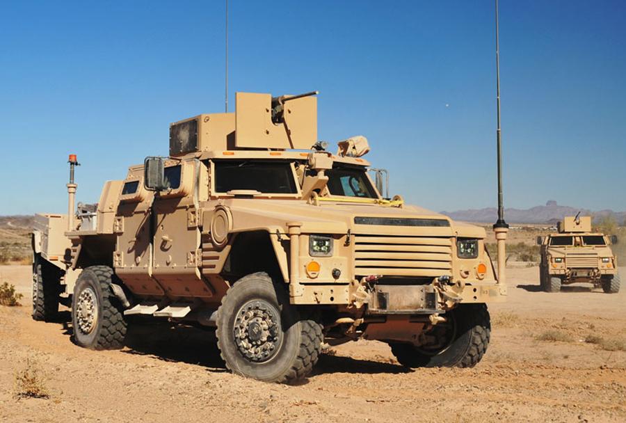Konkurent - lahko taktično oklepno vozilo Lockheed Martin JLTV