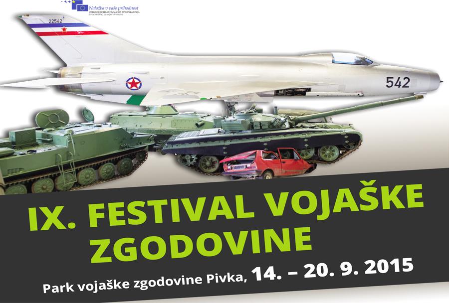 9. festival vojaške zgodovine v Pivki