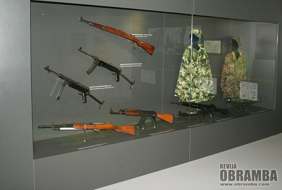 Park vojaške zgodovine - nov paviljon