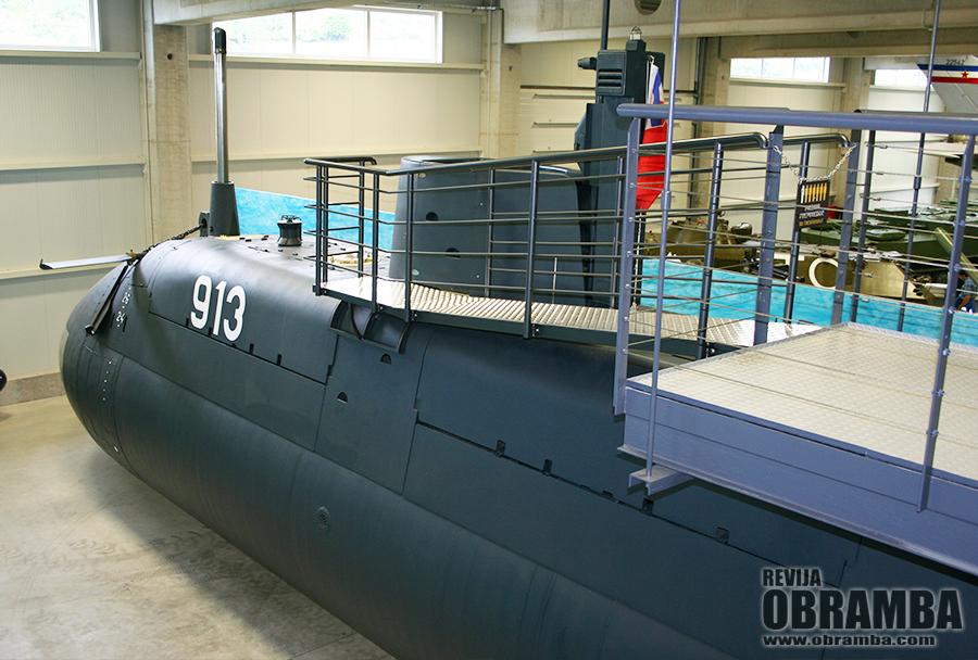 Park vojaške zgodovine - podmornica P-013 zeta