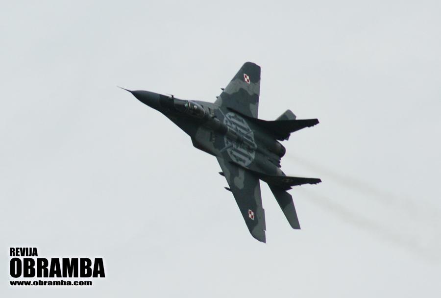 Rivolto 2015: poljski lovec MiG-29