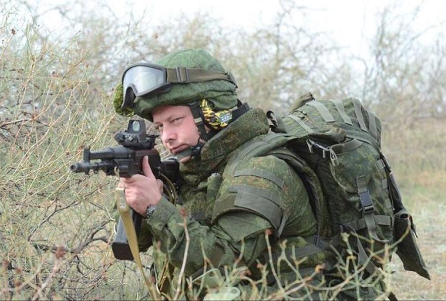 oprema ruskega vojaka ratnik-1
