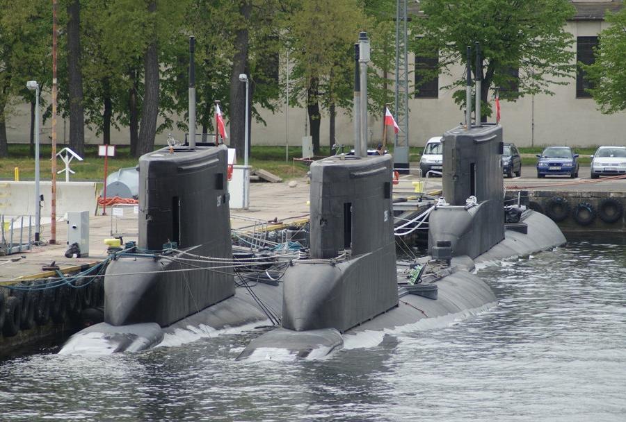 Poljske podmornice razreda kobben