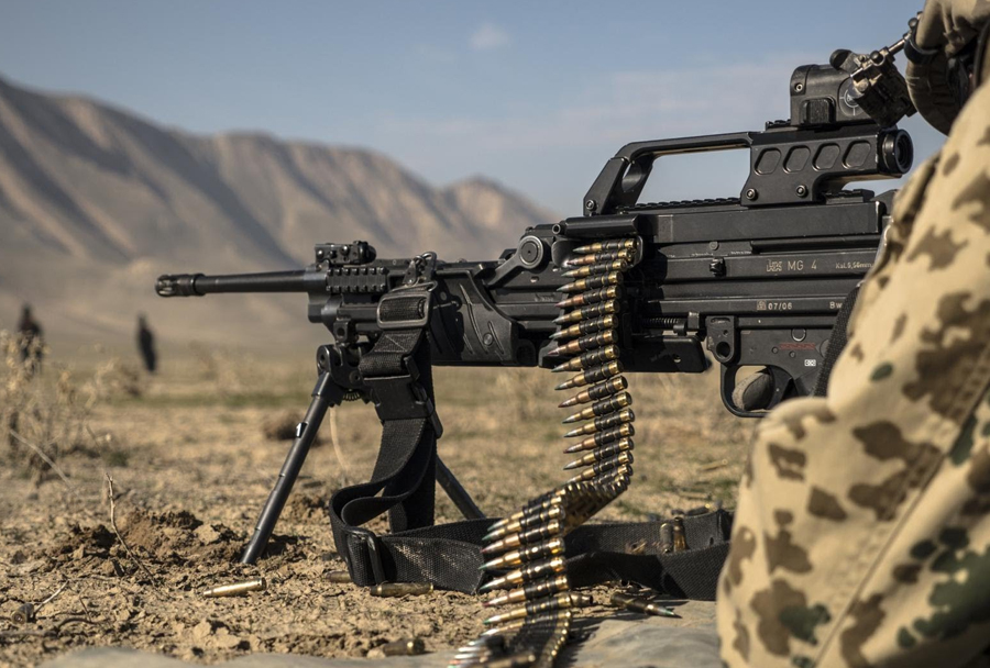 Puškomitraljez Heckler & Koch MG4