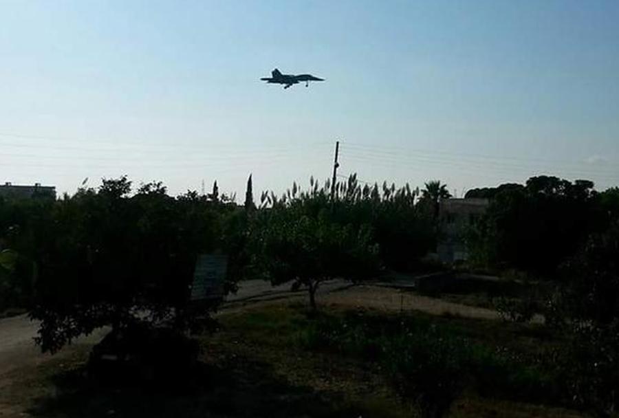 Ruski Su-34 domnevno slikan v Siriji