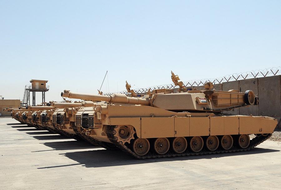 tank-M1A1-abrams-Irak