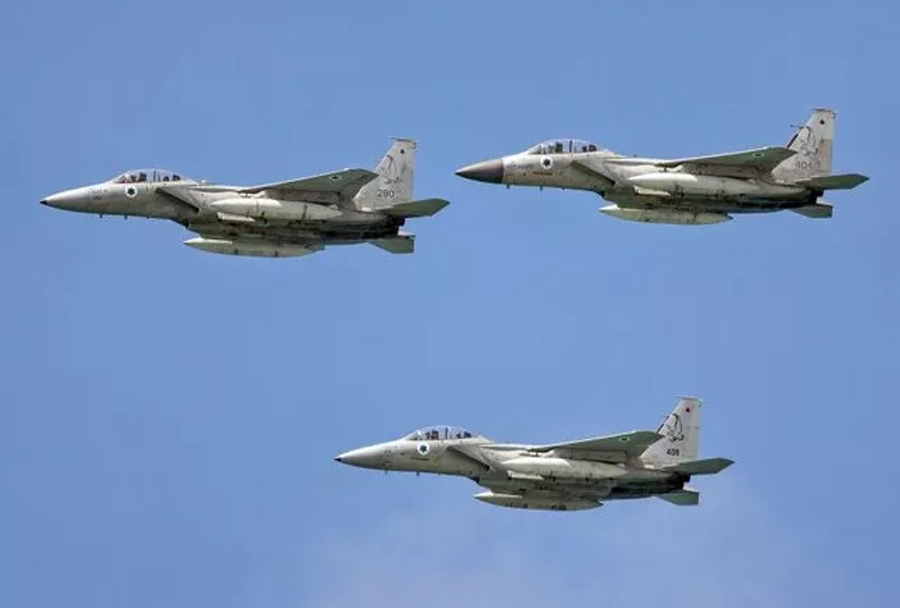 Izraelski lovci F-15