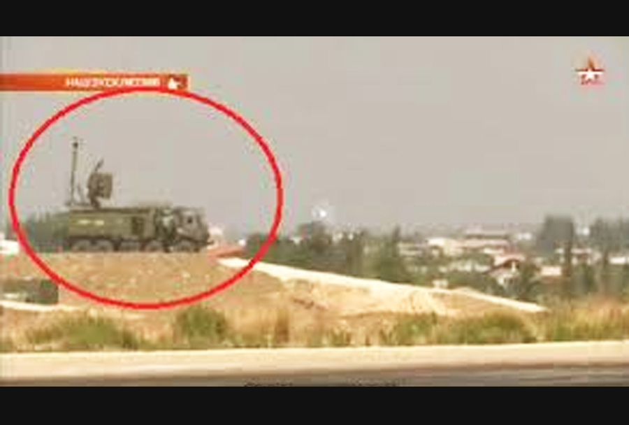 Ruski sistem za elektronsko bojevanje krasuha-4 v Siriji