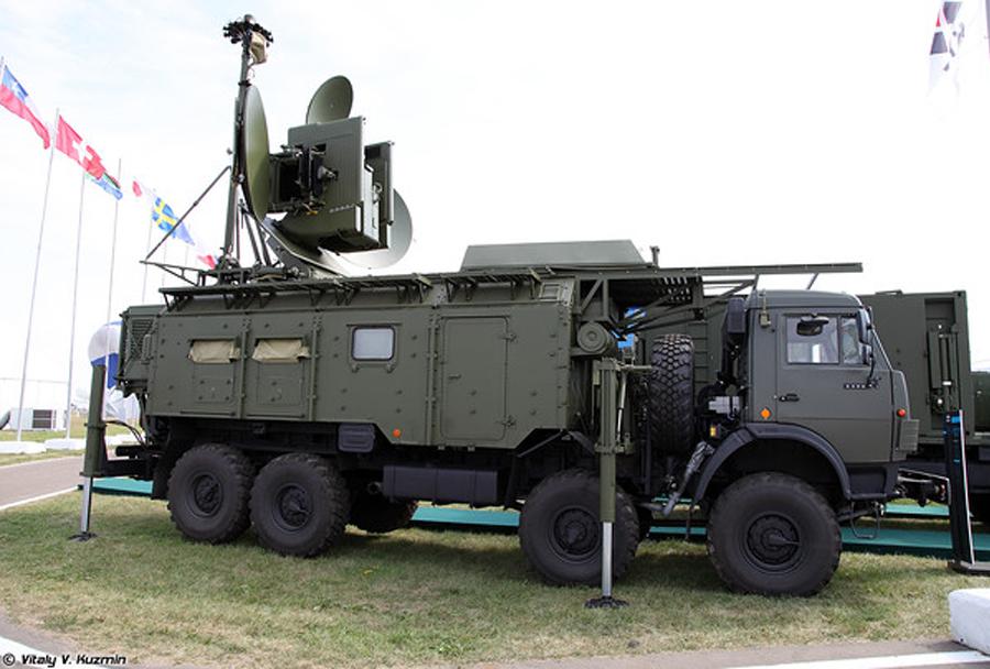 Ruski sistem za elektronsko bojevanje krasuha-4