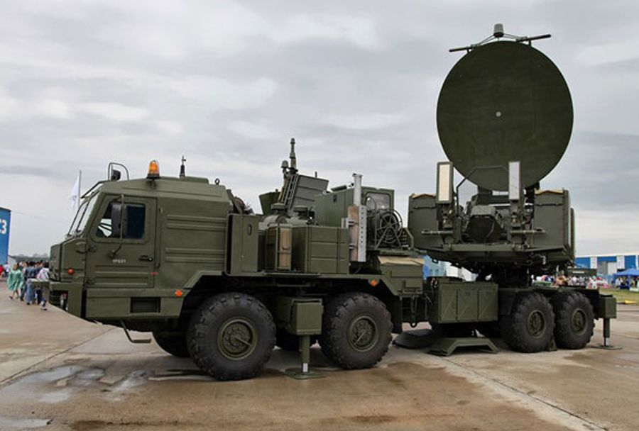 Ruski sistem za protiradarski-protielektronski boj krasuha-4
