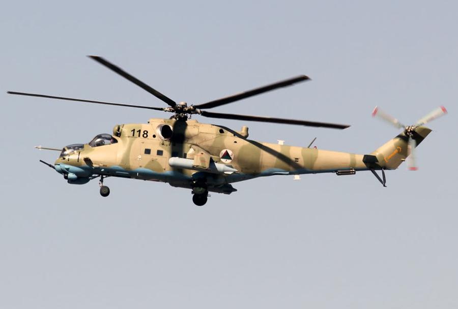 Afganistanski bojni helikopter Mi-35