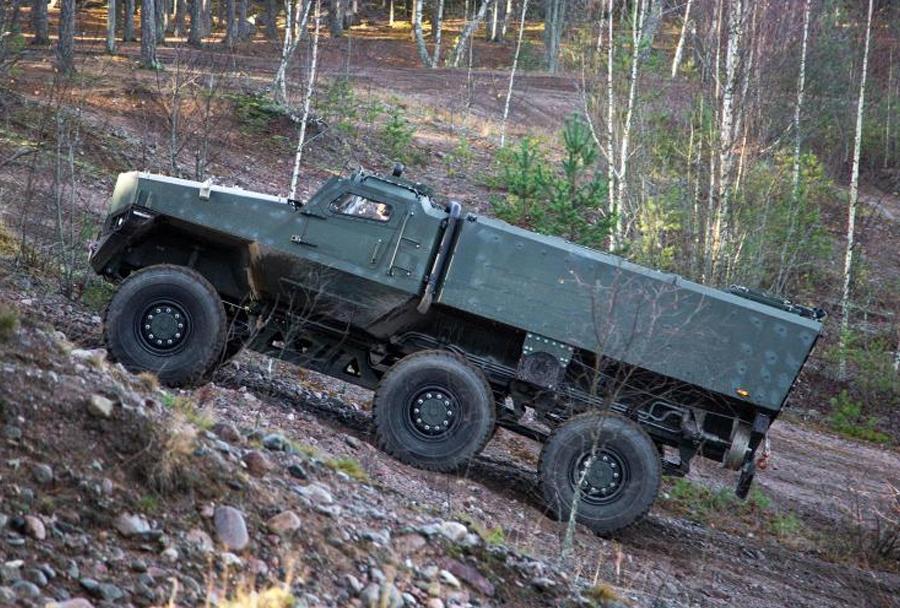 finsko MRAP vozilo PMPV 6x6 MiSu