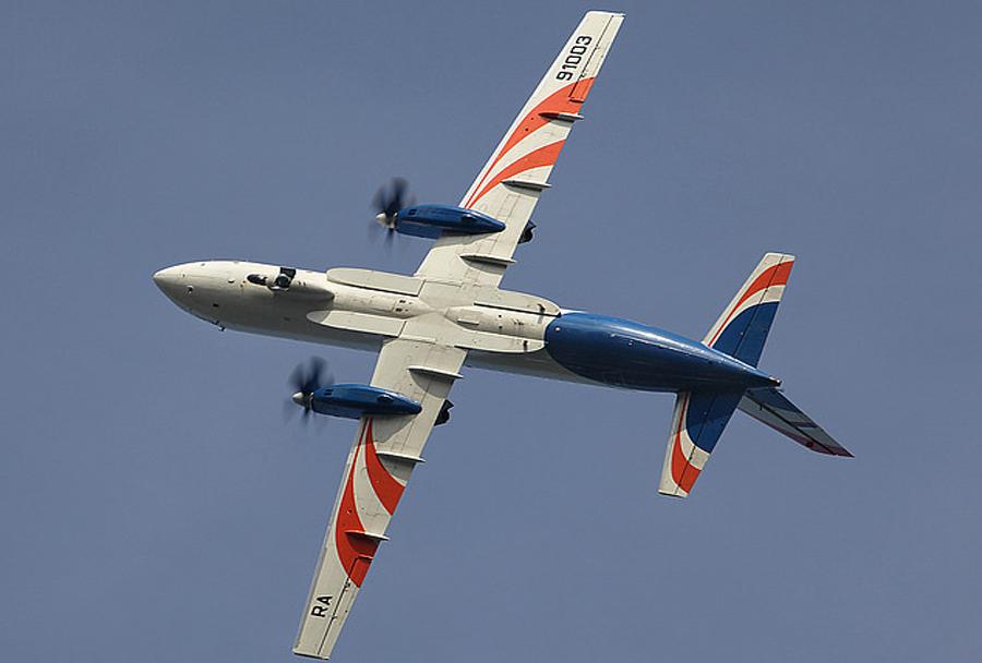 Novo rusko potniško letalo Iljušin Il-114