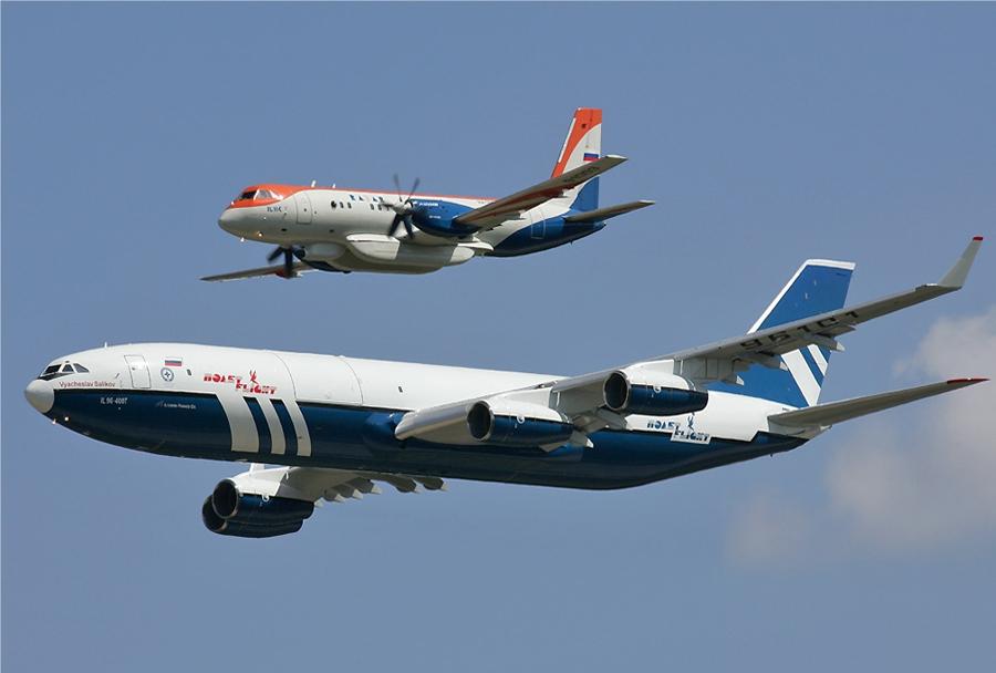 Letalo Il-96 in novo rusko potniško letalo Iljušin Il-114