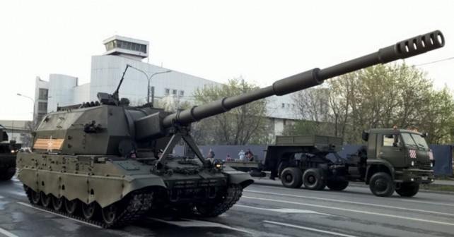 Ruska samovozna havbica koalicija-SV