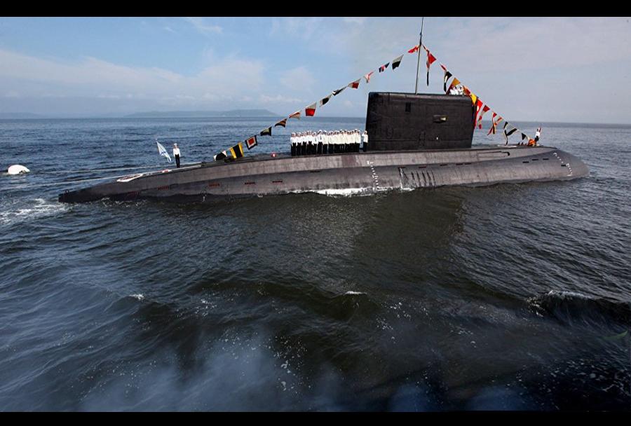 Ruska podmornica Rosvot on Don rareda improved kilo