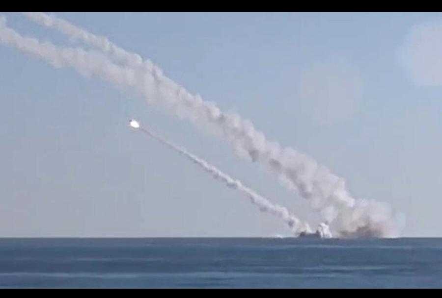 Ruske podmorniške manevrirne rakete 3M-54 kalibr na ISIS