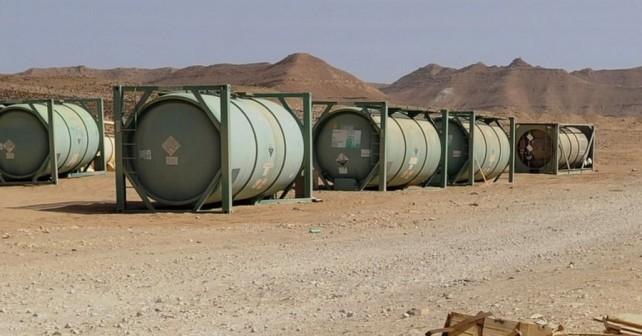 Nekdanja skladišča kemičnega orožja v Libiji