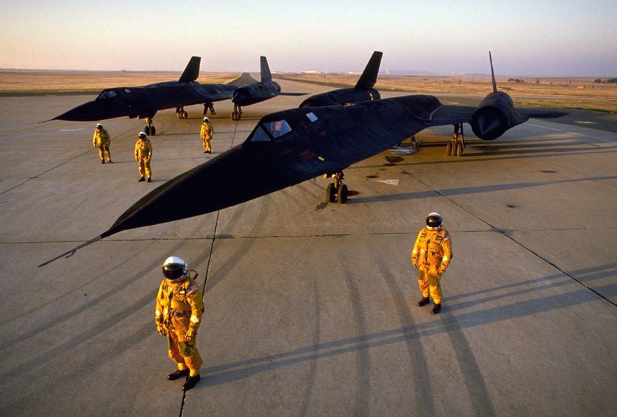Letalo SR-71 blackbird