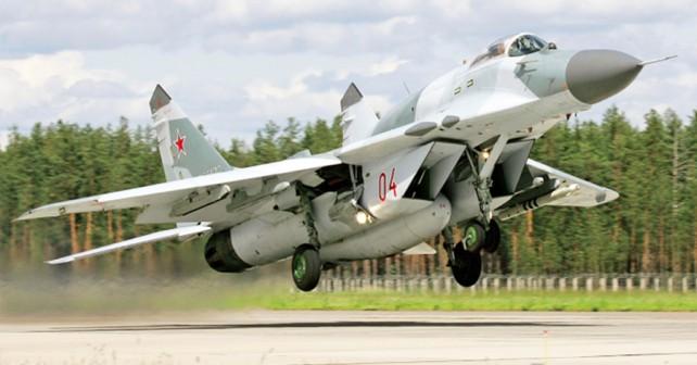 Ruski lovec MiG-29SMT fulcrum-E