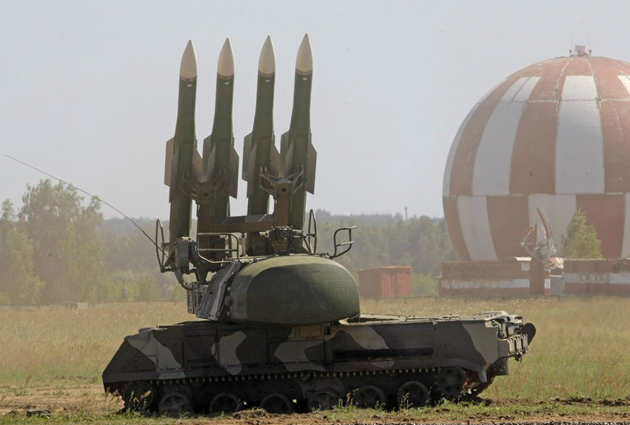 Ruski protiletalski raketni sistem buk