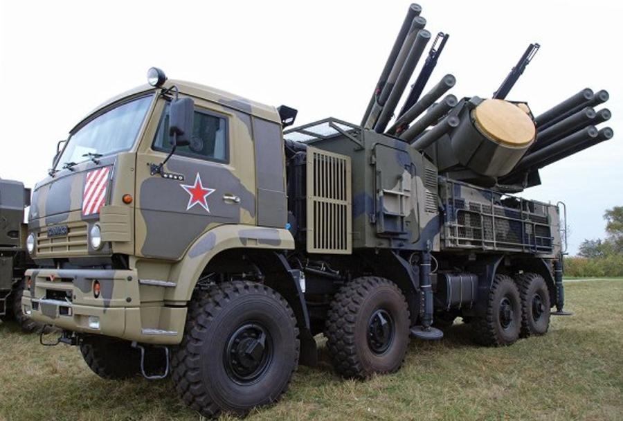 Ruski protiletalski raketni sistem pancir-S1