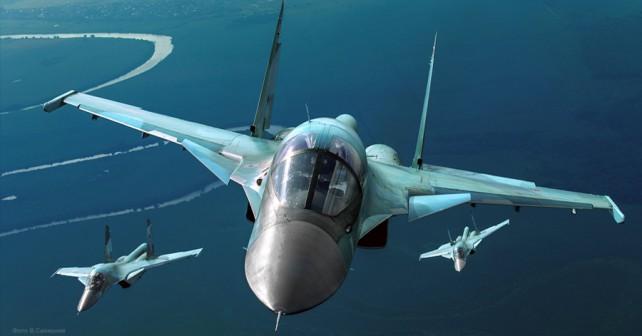 Ruski lovski-bombniki Su-34