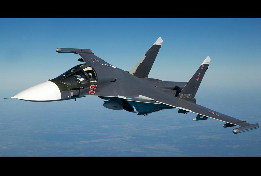 Ruski lovski-bombnik Su-34 fullback