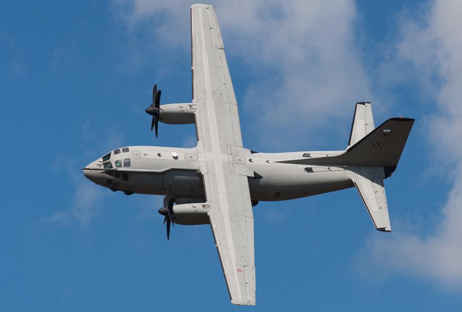 Italijansko transportno letalo Alenia C-27J spartan