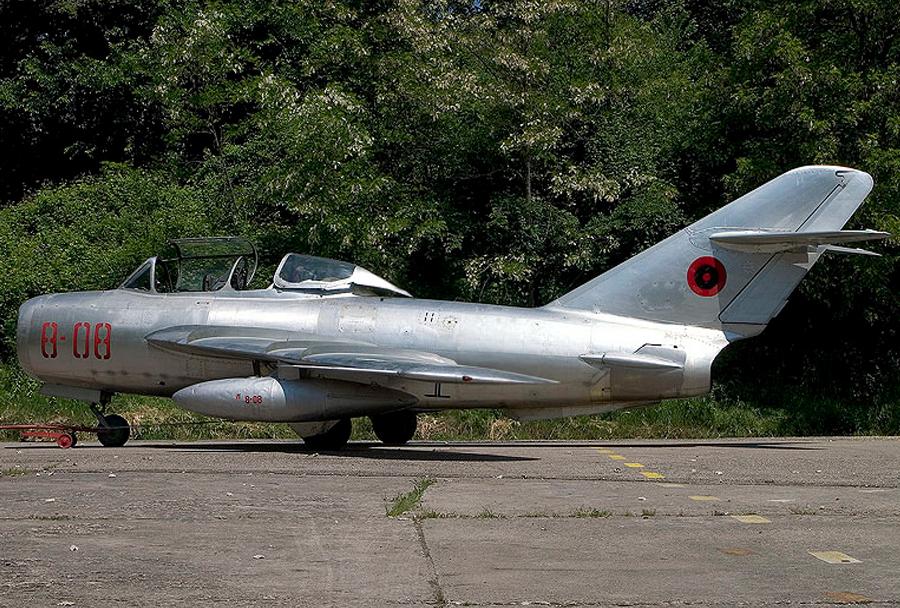 Albanski lovec MiG-15