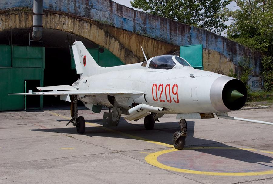Albanski lovec MiG-21