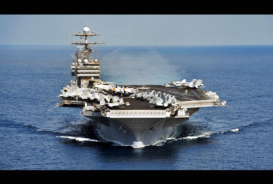 Ameriška letalonosilka USS Harry S. Truman