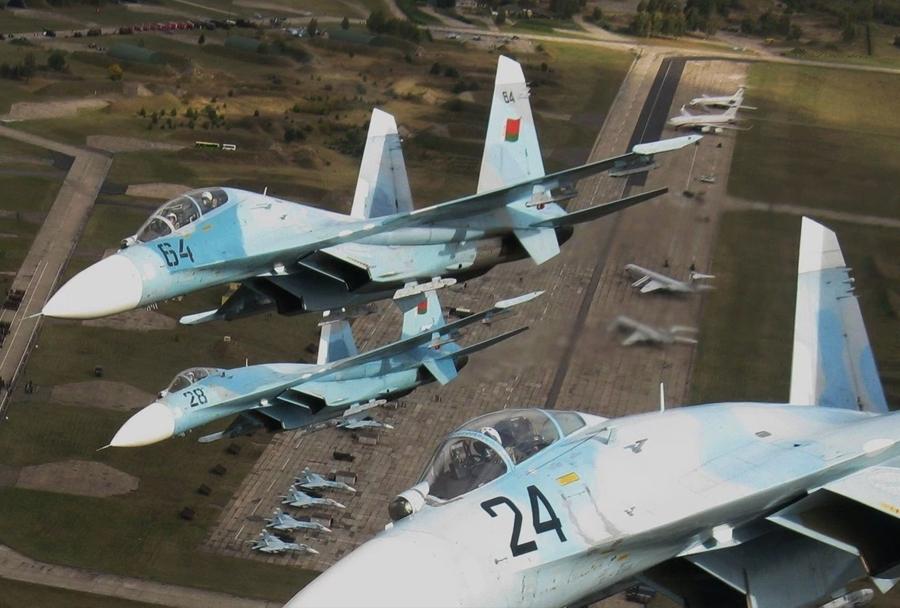 Beloruski lovci Su-27
