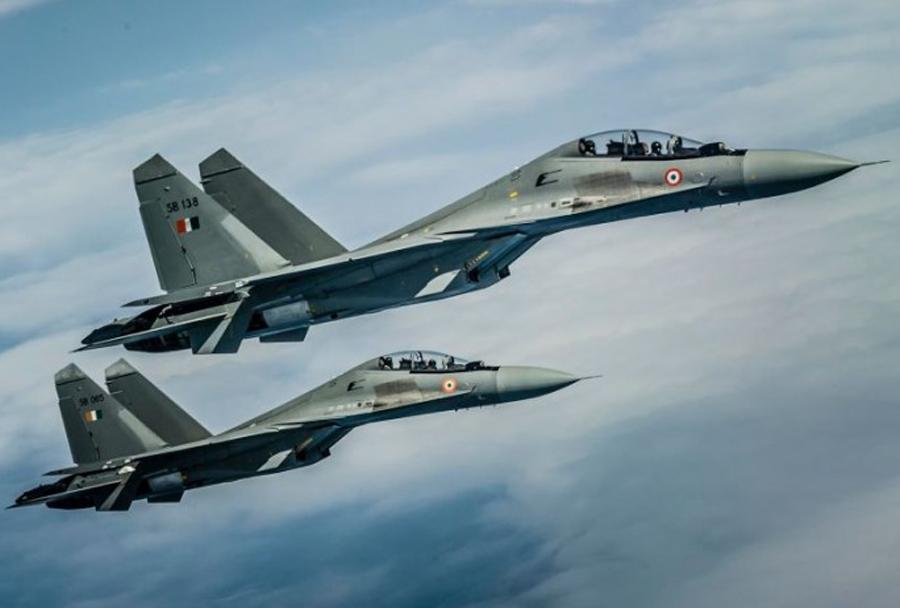 Indijska lovca Su-30