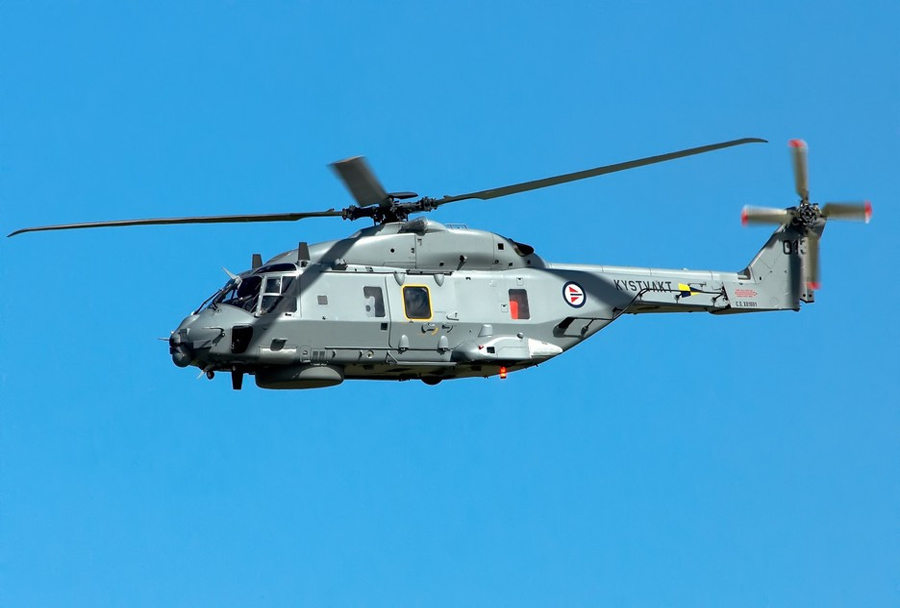 Helikopter NH90 - Norveška obalna straža