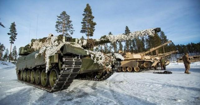 Vojaška vaja Cold Response 2016