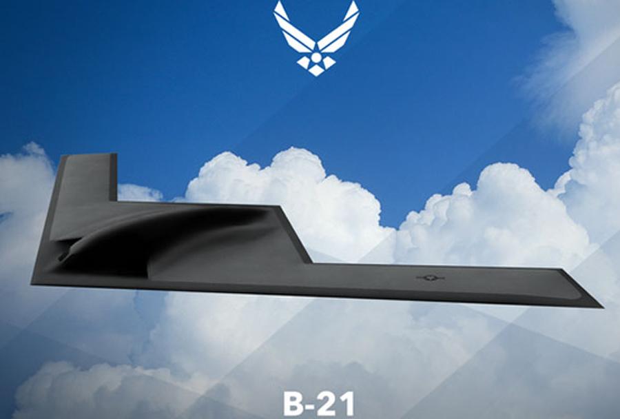 Koncept ameriškega bombnika B-21 LRSB