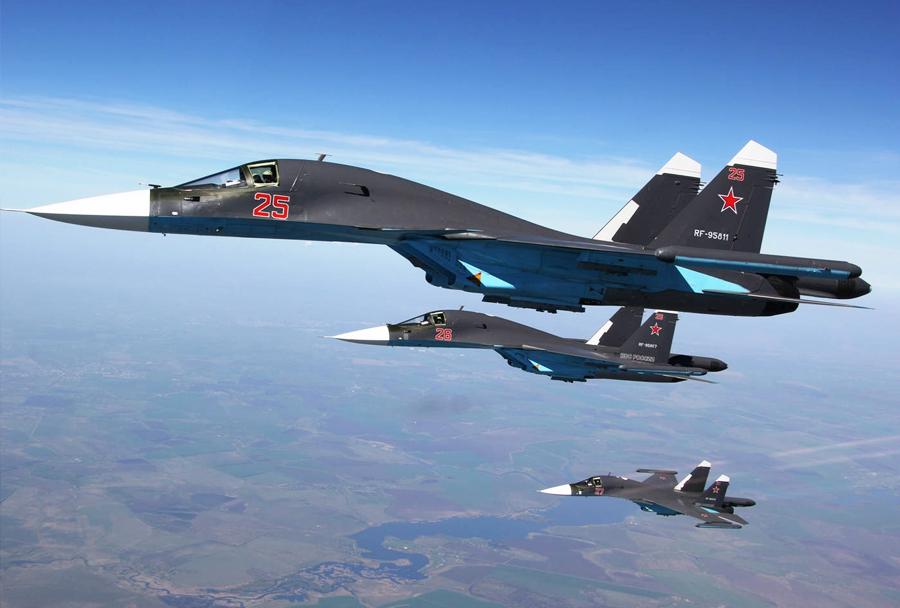 Lovski bombniki Su 34