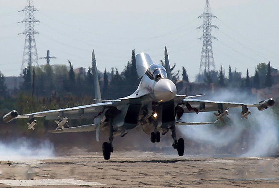 Ruski lovec Su-30SM